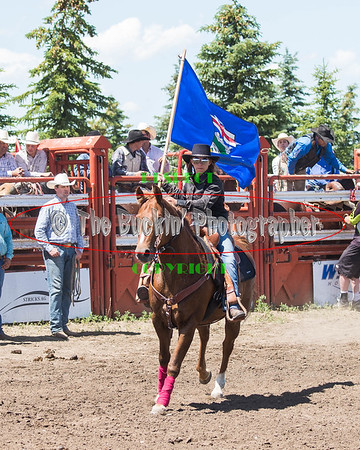 Foremost Rodeo 2015 Saturday Perf