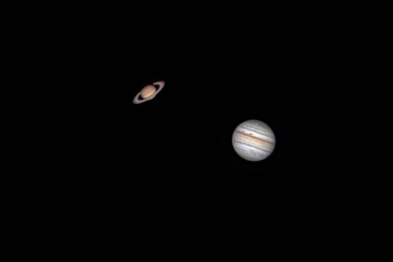 Saturn & Jupiter