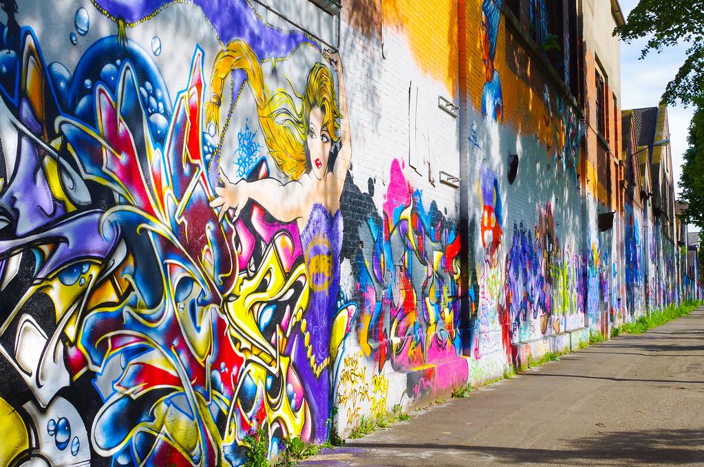 Street art in Mulhouse