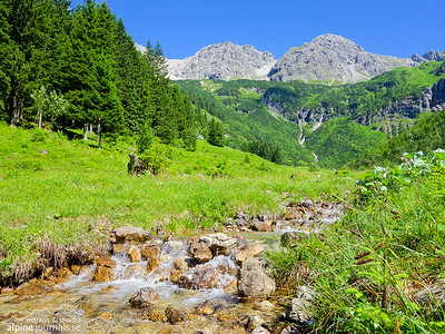 Wildental hiking, Kleinwalsertal