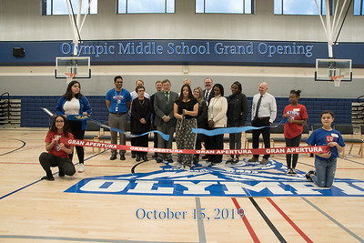 Olympic Middle School Grand Opening