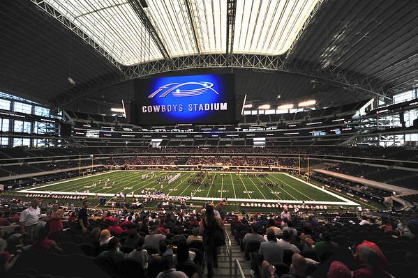 Trinity Football at Cowboys Stadium 2009