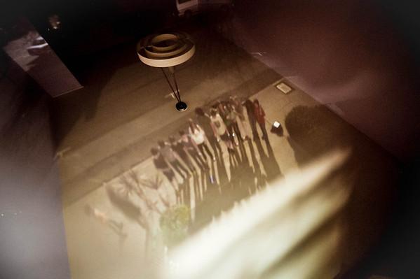 6th Grade Camera Obscura physics experiment
