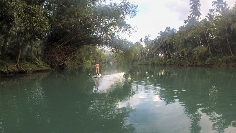 Southeast Asia adventures SUP Bohol Philippines