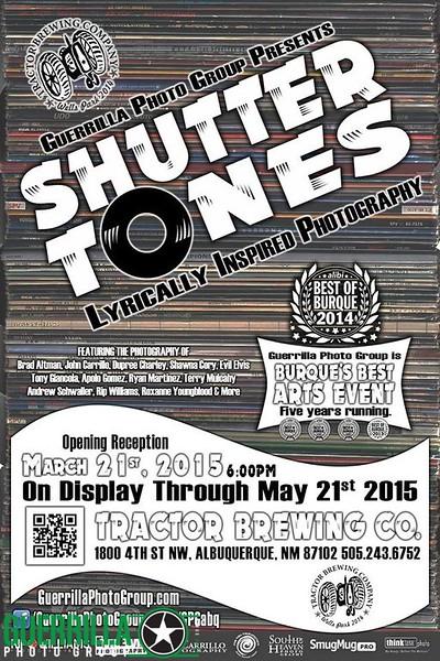 SHUTTER TONES (April, 2015)