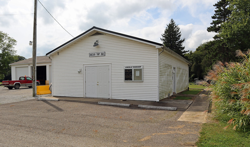 Lincoln Township Hall and garage