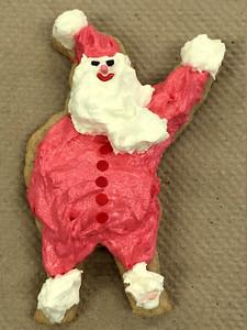 2014 12 15:  Christmas Cookie, Santa