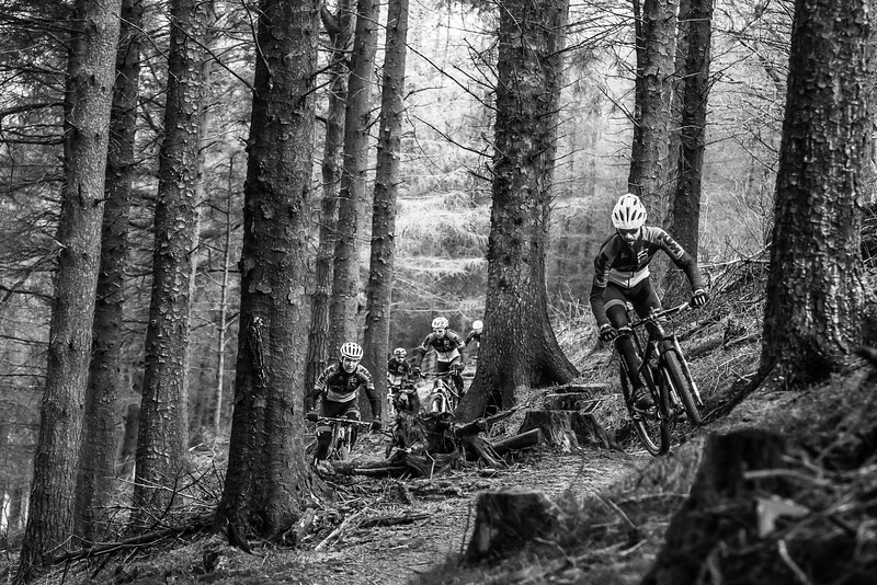 Team shoot in Afan with KTM.