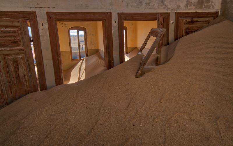 Sand Dune Inside Room