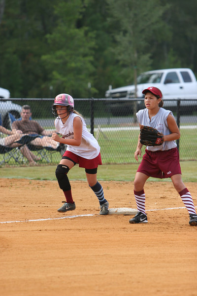 Lowndes Middle School Softball VS Hahira Middle