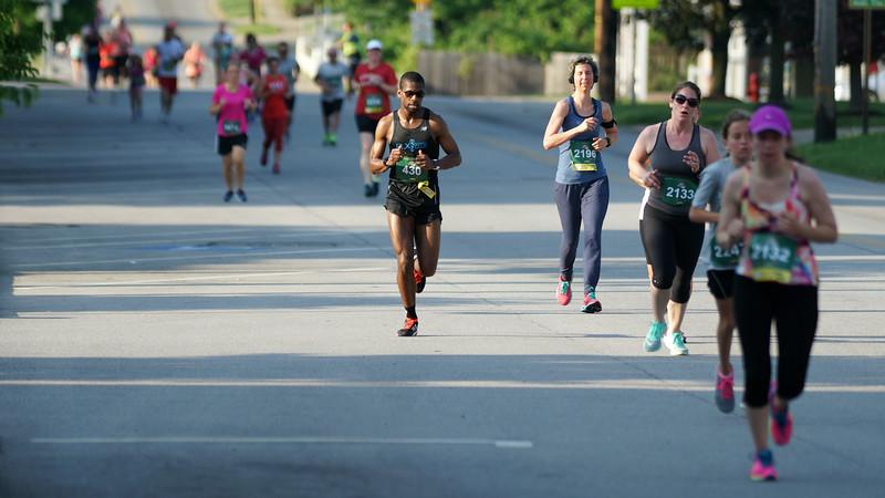 Half Marathon Winner, Verrelle Wyatt.