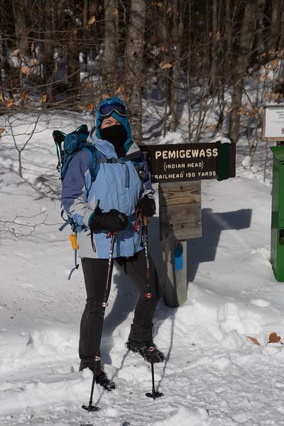 2018 January New Hampshire Hiking