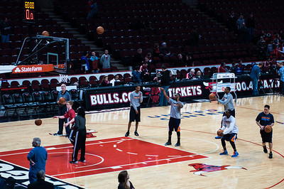 NBA - Chicago Bulls vs Charlotte Bobcats - 31st December 2012 - United Center, Chicago, IL