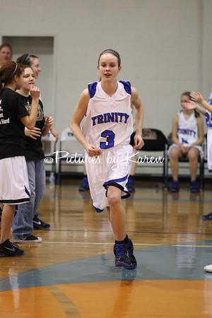 TJH Varsity Girls Vs Darby