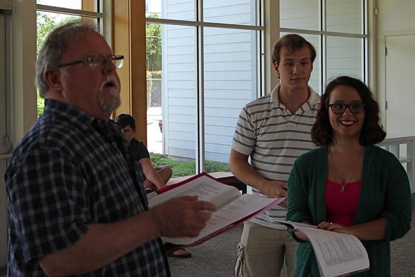 Merchant of Venice rehearsal 5/20/14