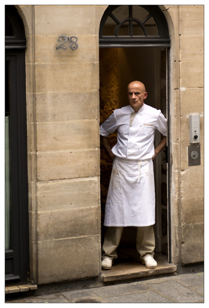 Chef on Ile-Saint-Louis