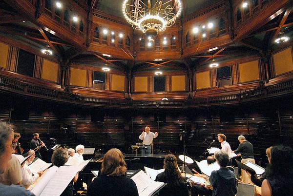 ZAMIR CHORALE  6.3.2007  Sander's theatre