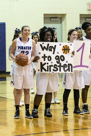 1.31.17 Kristen Petrini - 1,000 Points vs. Myers Park