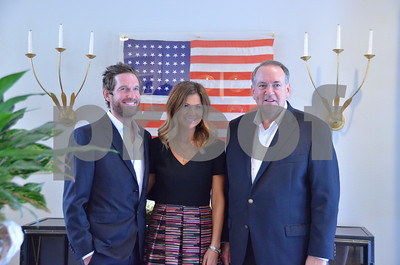 10/7/15 An Evening With Gov. Mike Huckabee - Reception by Gloria Swift