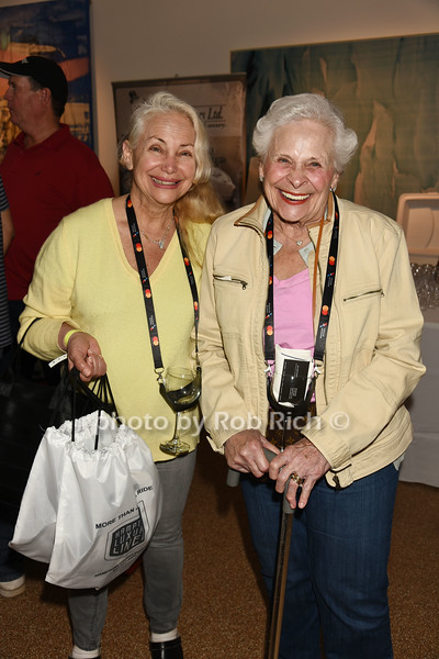 Lisanne Bruno and Priscilla Bruno attend Dan's Rose' Soiree at the Southampton Arts Center in Southampon on May 28, 2017.
