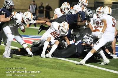 190913 Hendrickson Hawks vs Westwood Warriors
