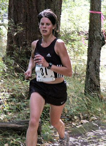 2003 Gutbuster Mount Doug - Meghan Day led the women until going off course