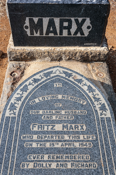 SOUTH AFRICA, North West Province, Ventersdorp. Jewish Cemetery (8.2013)
