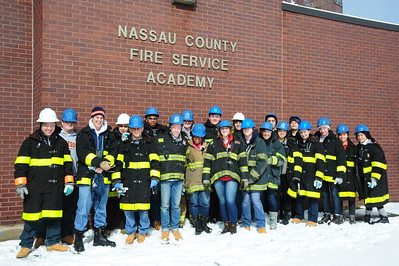EMT Training at Nassau County Fire Service Academy - 3/2015