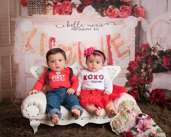 The Twins First Valentine's Day