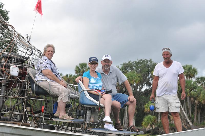 Christmas Florida Air Boat Ride 6/2011