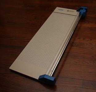 Dahle paper cutter
