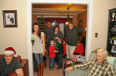 Sherwood Family Christmas & Dad's 86th B-Day