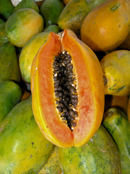 Papaya is wonderful and easily available, but just not as flavorful as the incredible mango