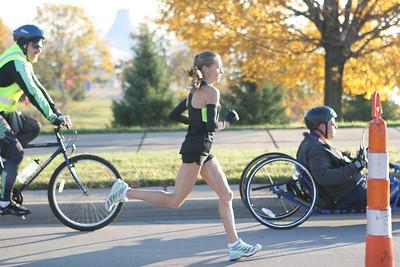 Belle Isle Bridge - 2012 Detroit Free Press Marathon