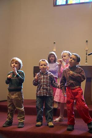 Children in Worship 2006