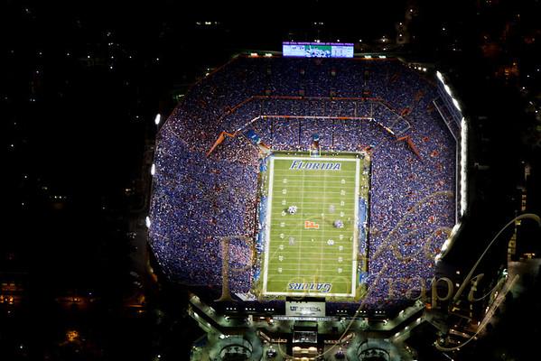 Aerial - Florida vs South Carolina 11-16-10 Night