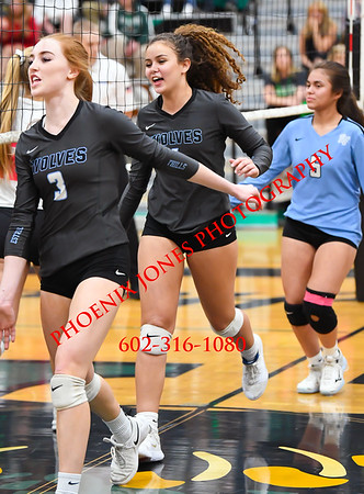11-13-19 - Estrella Foothills v Greenway - AIA 4A Final - Volleyball