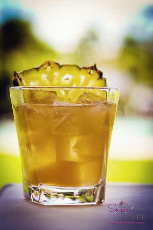 The Maka Tai, mixologist Chandra Lucariello's interpretation of a Mai Tai in honor of Kā'anapali Fresh. © 2012 Sugar + Shake