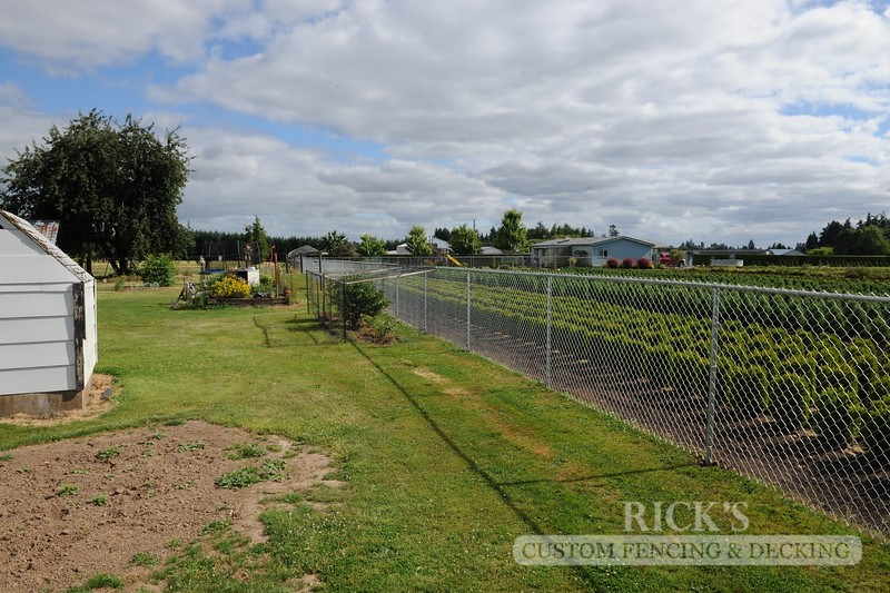 4127 - Galvanized Chain Link Fencing