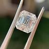 3.10ct Vintage Emerald Cut Diamond, GIA H VS1 20
