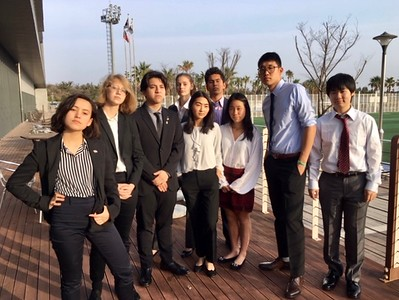 HS Students Attend Model UN Conference in Korea