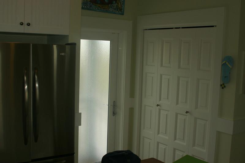 2nd floor kitchen- door on to porch