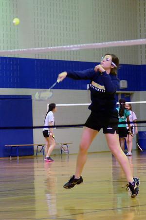SMS Senior Badminton Seeding Tournament - Thursday April 4, 2013