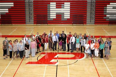 High School Staff - 2012 - 2013