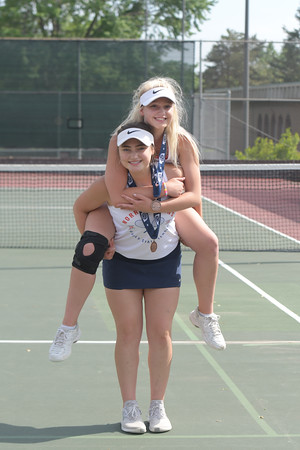 Girls Tennis at State Meet Day Two