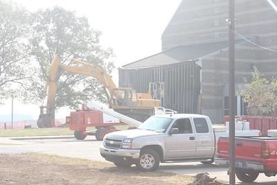 2008-09-03 - Auditorium Construction