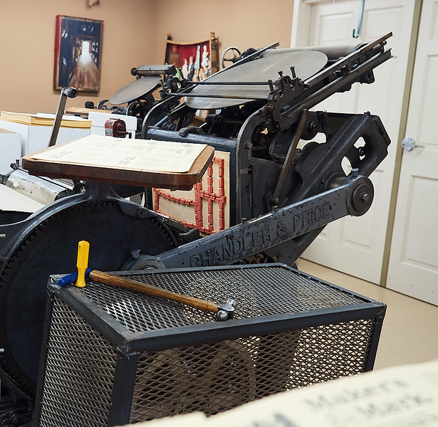 Printing Press - Maker's Mark Labels