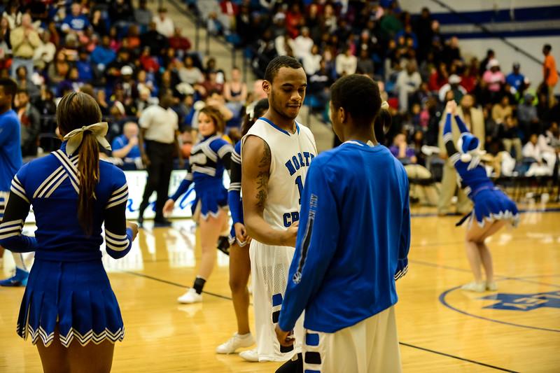 Basketball Varsity Boys vs  Crowley 12-11-13-24