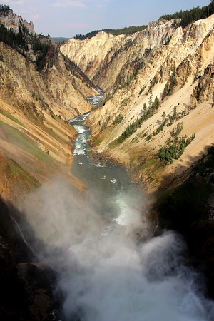 Yellowstone National Park / Lower Falls
