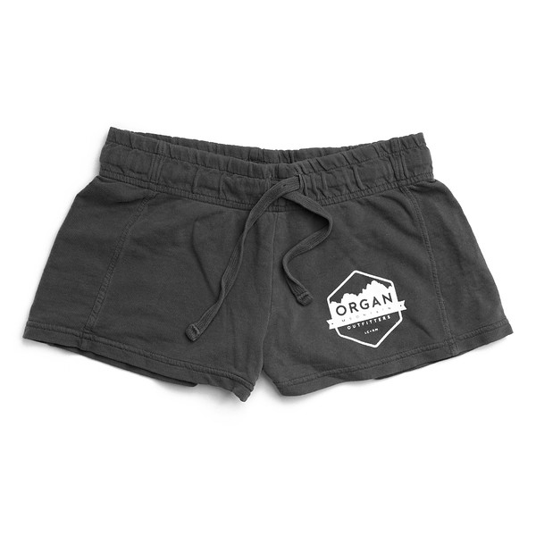 Organ Mountain Outfitters - Outdoor Apparel - Womens - French Terry Shorts - Pepper.jpg